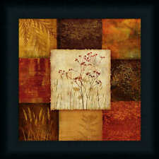 Perfect Arrangement II by Nan Abstract Floral Collage Framed Art Print Wall