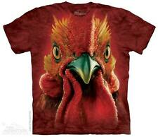 New BIG COCK ROOSTER HEAD T Shirt