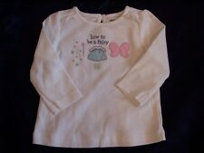 NWT Girl's Gymboree Fairy Wishes ivory long sleeve shirt ~ 2 2T