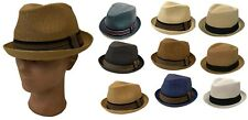 DERVY FEDORA  TRILBY GANGSTER FEDORA BUCKET HAT MEN WOMEN CAP