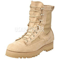 Made in USA NEW MILITARY GORETEX ACU DESERT TAN ICB COMBAT ARMY BOOTS,TEMPERATE