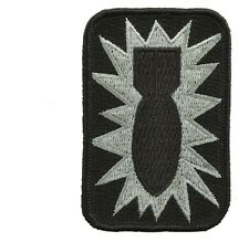 Rothco 1564 Bomb Patch - 52nd Ordnance Group / Hook Back
