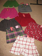 GYMBOREE U PICK ALPINE SWEETIE MERRY AND BRIGHT SKIRT SKORT 6 7 8 9 10 OR 12 NWT