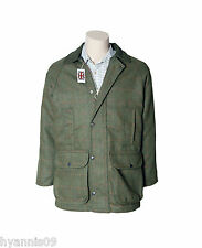 Mens Derby Tweed Quilted Hunting/Walking/ Fishing/ Shooting Country Jacket