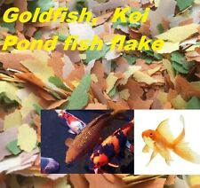 Quality+Value ~Fish Flake food for Goldfish,Koi,Coldwater/Pond Fish, Free UK P+P