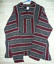 XL  Many styles YOU CHOOSE!! Baja Surfer Hoodie Skater Jacket Mexican Poncho
