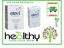 ELEVIT PRONATAL TABLETS - PREGNANCY VITAMINS - BREASTFEEDING VITAMINS