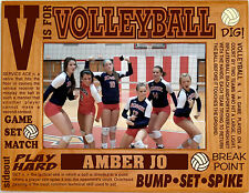 Personalized Volleyball Engraved Picture Frames 4x6 5x7 8x10 Team Photo Custom