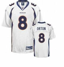 Reebok Denver Broncos NFL Football Mens Kyle Orton # 8 Replica Jersey, White