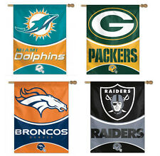 NFL Assorted Teams Vertical House Flags FREE Shipping