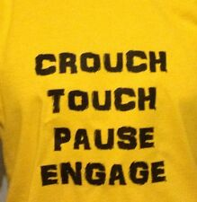 CROUCH, TOUCH, PAUSE, ENGAGE. fun Rugby T-Shirt, Men Ladies