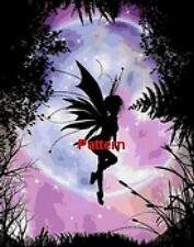 FAIRY. Cross Stitch Pattern. Paper Version or PDF Files. Free shipping!!!