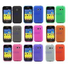 Matte TPU Silicone Gel Case Cover For Telus Samsung Galaxy Discover SGH-S730M