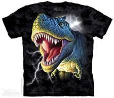 New LIGHTNING T-REX DINOSAUR Youth T Shirt