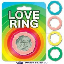Love Ring - Male Penis Beaded Erection Enhancer, Impotence Adult Aid - Aries Ram
