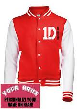 1D,One Direction Varsity, College, Letteman, Baseball Jacket.Add Personalization