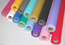 50FT and 100FT Plastic Banquet Roll Table Cloth Cover Party Wedding 20 Colours