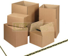 "Postal Packing Cardboard Boxes Size 9x9x9"" Packaging Cartons CHOOSE YOUR QTY"