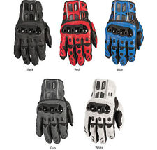 Fly Racing FL1 LEATHER Gloves Looks Great with Honda Street Motorcycle