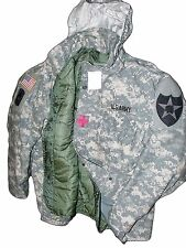 Made in USA ACU MILITARY FIELD JACKET ARMY DIGITAL CW COAT M65 NEW Liner.Hood GI