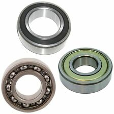 Budget Deep Groove Ball Bearing Radial  6000 Series 2RS ZZ 2Z Open - Choose Size