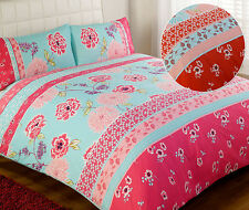 Floral ORIENTAL BEDDING Chic Vintage Duvet Cover Luxury Bed Quilt Cover Set