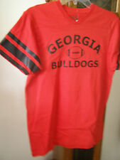 Georgia Bulldogs Licensed V-Neck T-shirts NWOT L XL Youth Varsity Classics