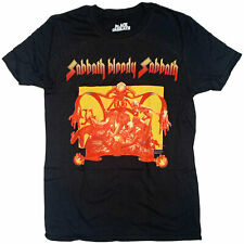 Black Sabbath T Shirt - Sabbath Bloody Sabbath 100% Official US Import Ozzy