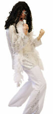 MARK BOLAN 1970'S GLAM ROCKER  FANCY DRESS COSTUME ALL LARGE SIZES L-XXXXL