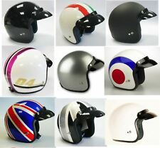 VIPER RS-04 OPEN FACE MOPED MOTORCYCLE MOTORBIKE SCOOTER CITY CRASH HELMET RETRO