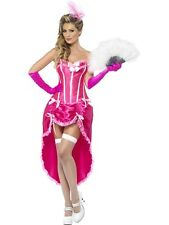 Sexy Moulin Burlesque Can Can Showgirl Dancer Ladies Fancy Dress Costume Outfit