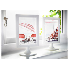 IKEA TOLSBY Frame for 2 Pictures Display Memo Red White Blue Green Orange NEW