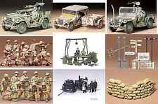Tamiya Military kits 1/35 scale Infantry Vehicles Accessories Plastic Model Kit
