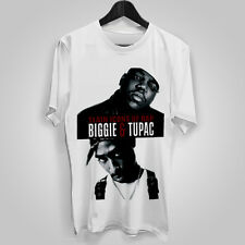 MENS T SHIRT music festival TUPAC rapper hip hop BIGGIE SMALLS thug life
