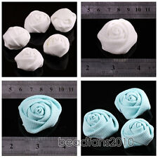 40x30mm For DIY Handmade Silk Rose Flower Head Craft Bridal Bouquet Headbands