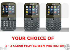 1 TO 3 Clear Film Screen Protector For Samsung SGH-S390G Prepaid Phone