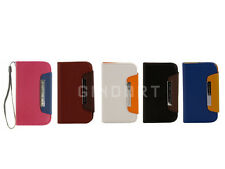Flip Leather Wallet Card Slot Phone Case Cover for Samsung Galaxy S3 Mini i8190