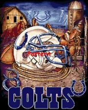 Indianapolis Colts Helmets (Mascot). Cross Stitch Patterns. Paper version or PDF