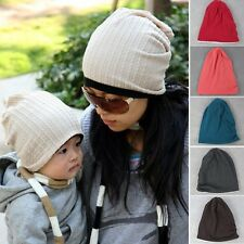 Parent-child Boys Girls Baby Infant Warm Winter Toddler Beanie Hat Cap 6Colors