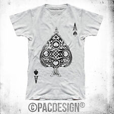 T-SHIRT POKER ASSO JOKER FASHION TEXAS HOLD EM WHY SO HAPPINESS FE0019A