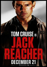 New Movie Poster Print - Jack Reacher - Tom Cruise A3 / A4
