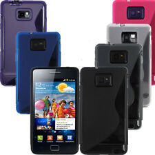 S-Line Wave TPU Gel Silicone Case Cover Skin For Samsung Galaxy S2 i9100