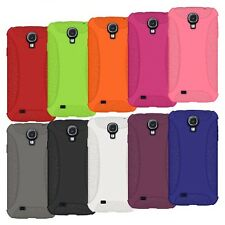 Amzer Silicone Soft Skin Jelly Fit Case Cover For Samsung GALAXY S4 S 4 GT-I9500