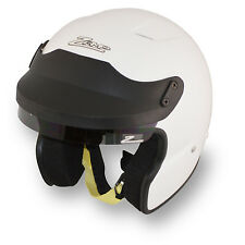 ZAMP - JA-2 SA2010 Open Face Auto Racing Helmet - HANS Snell Rated SCCA AutoX