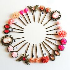 Rose Ultra Hair Pins Grips Clips & Slides Vintage Accessories Wedding Flower