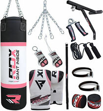 RDX 13 Piece Ladies Boxing Set 5FT 4FT Filled Punch Bag,Gloves,Bracket Womens P