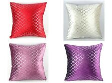 "Shining Rhombus Sequins Throw Pillow Case Home Decor Cushion Cover 18"" Square"