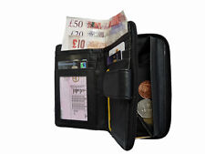 Large Leather Purse Soft Patchwork Leather Purses Coin Credit Card Holder P341M