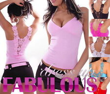 NEW SEXY WOMEN'S TOP SIZE 6 8 10 HOT PARTY CASUAL CLUBBING WEAR SHIRT CLOTHING