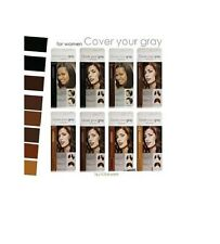 Cover Your Gray Brush-in Hair Color / Colour Mascara - All colours